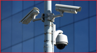 Monitored CCTV